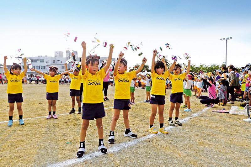 大川市の夏祭りに参加